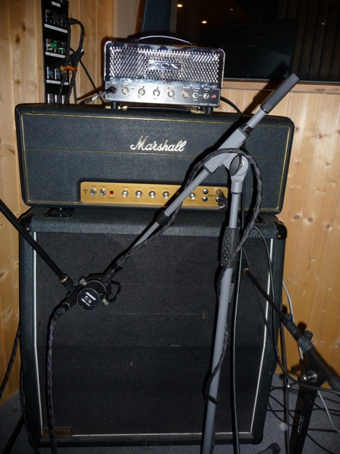 Vox Nightrain & Marshall 4x12
